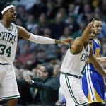 Celtics cool off Curry, Warriors