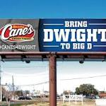 Raising Cane's offer to Mavericks target Dwight Howard (free chicken fingers for ...