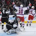 Rangers hold on for 4-3 win over Kings