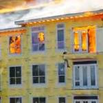 Worker describes escape from burning building