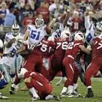 Cardinals' Jay Feely kicks game winner after Cowboys botch PAT