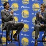 Steve Kerr's TNT job, Warriors work overlap