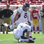 Broncos search for kicker after Matt Prater's suspension