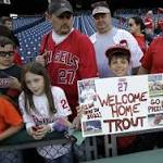 Millville baseball team has memorable experience thanks to Angels' Mike Trout