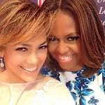 Jennifer Lopez Instagram Fun: J-Lo Snaps A Selfie With Michelle Obama, All ...