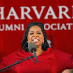 Harvard Honors Oprah for Her Commitment to African American Culture