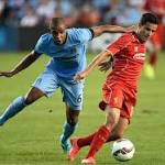 Liverpool beats Manchester City at Yankee Stadium