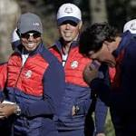 Woods, Mickelson taking the helm as Ryder Cup leaders