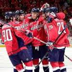 Laich ends drought, Ovechkin returns to power Capitals' rout