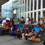 The people camping outside the Apple store want more than the iPhone 6