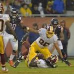 Chicago Bears vs. Washington Redskins live stream, live score updates, odds ...