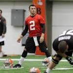 Video: Johnny Manziel hits the practice field for the Cleveland Browns