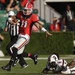Murray, Gurley lead Georgia past S.Carolina 41-30