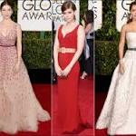 2015 Golden Globes red carpet dresses