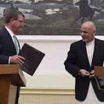 Carter ends Afghanistan visit