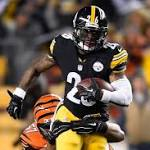 Le'Veon Bell's Absence Looms Large as Steelers Offense Falters in Wild-Card ...