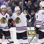 Patrick Kane's hat trick leads Hawks to 10th straight win