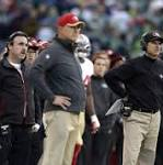 49ers miss the playoffs and have 2 weeks remaining with coach Jim Harbaugh's ...