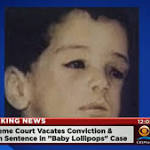 "Death sentence tossed for mother of ""Baby Lollipops"""