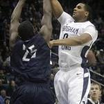 BYU basketball battles in a hard-fought loss