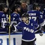 Pavelski's hat trick helps Sharks top Tampa Bay Lightning 5-4