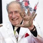 Mel Brooks' Chinese Theatre cement handprint has six fingers