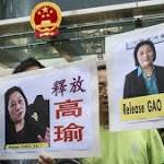 China methods up tension on journalists