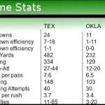 The Oklahoma Sooners prevailed over the Texas Longhorns in Dallas on ...