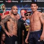 Photos: Miguel Cotto, Sergio Martinez Ready For War