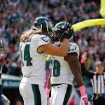 10 observations from Eagles-Giants