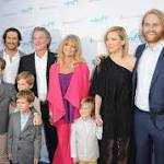 Oliver and Kate Hudson's Kids Steal the Show While Supporting Goldie Hawn Before Mother's Day Celebration