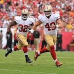 Bruce Miller (shoulder blade) out