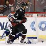 Coyotes edge Canucks in SO, 3-2, end 10-game slide