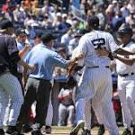 Yankees sweep Angels as CC Sabathia settles in, then gets ejected