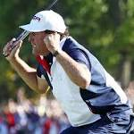 Mickelson-Sergio was showdown (and leap) for the ages