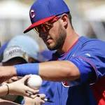 Top prospect Kris Bryant joins Cubs for game vs Padres