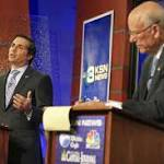 Kansas debate: Did Roberts stick 'liberal Democrat' label on independent Orman?