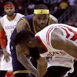 Harden kicks LeBron below the belt – and other painful NBA moments