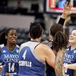 Augustus' tip-in at the buzzer gives Lynx 66-64 victory over Indiana