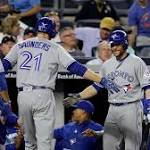 Martin hits first 2 HRs of season, Blue Jays top Yankees 8-4