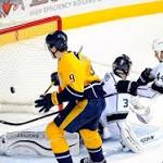 Los Angeles Kings Defeated in Shootout by Nashville Predators 4-3