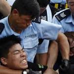 Nearly 200 arrested in Hong Kong protests