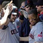 Indians place Swisher, Santana on disabled list