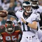 Reports: If healthy, Carson Wentz will start for Eagles in opener