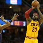 A near triple-double for LeBron James spearheads Cleveland Cavaliers' 113-87 ...