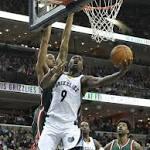 Team scoring effort propels Grizzlies past Bucks