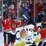 Michal Handzus keeps Blackhawks alive in double-overtime win