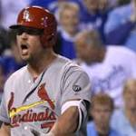 Matt Holliday 45-game on-base streak ends after ump Joe West ejects him