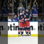Roundup: Rangers win eighth straight, ruin debut of Devils' coaching trio