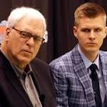 Knicks' Porzingis cops to big weakness — but eyes playing time
